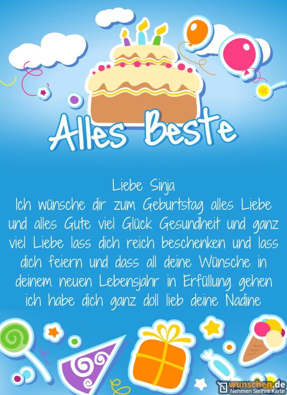 Alles Liebe Und Gute Zum Geburtstag Wünsche